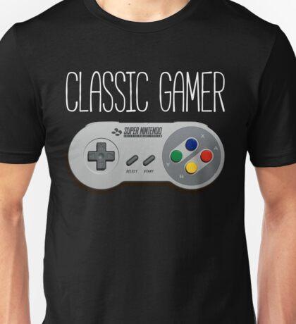 Classic gamer (snes controller) Unisex T-Shirt