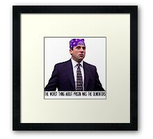 Prison Mike - The Worst Thing About Prison Was the Dementors Framed Print