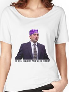 Prison Mike - The Worst Thing About Prison Was the Dementors Women's Relaxed Fit T-Shirt