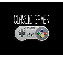 Classic gamer (snes controller) Photographic Print