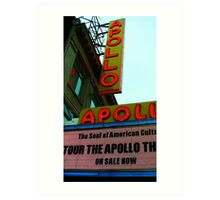 Apollo Theater - New York City Art Print