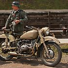 soldier bike by cameraimagery