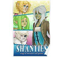 Shanties Caye Crew Poster