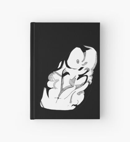 Shadowed Torso Hardcover Journal