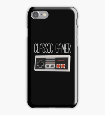 Classic gamer (nes controller) iPhone Case/Skin