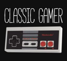 Classic gamer (nes controller) by whereismypanda
