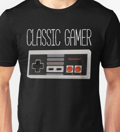 Classic gamer (nes controller) Unisex T-Shirt