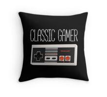 Classic gamer (nes controller) Throw Pillow