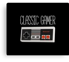 Classic gamer (nes controller) Canvas Print
