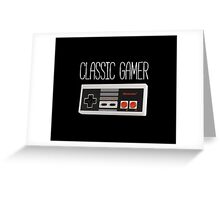 Classic gamer (nes controller) Greeting Card