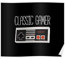 Classic gamer (nes controller) Poster