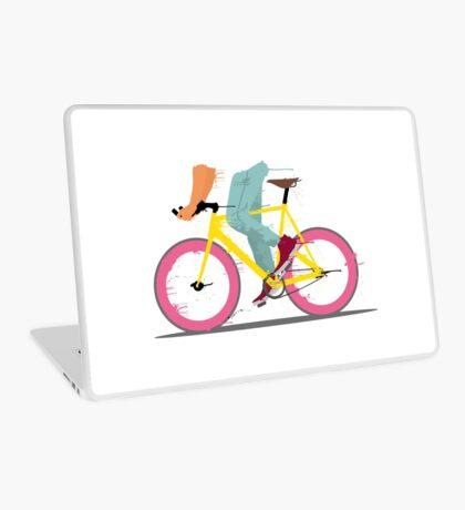 fixie bicycle Laptop Skin