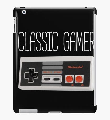 Classic gamer (nes controller) iPad Case/Skin