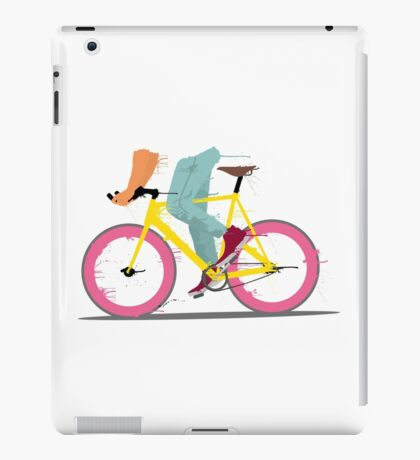 fixie bicycle iPad Case/Skin