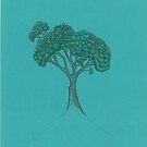 Solitary tree by Gill Rippingale