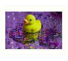 Twinkle Twinkle Little Duck Art Print