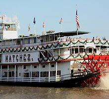 Natchez Steamboat by rebecca12291