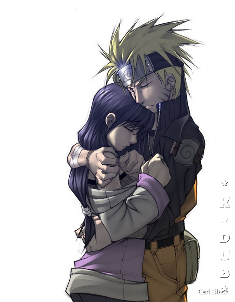 Naruto and hinata by Carl Black