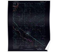USGS Topo Map Idaho Parma 237564 1965 24000 Inverted Poster