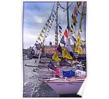 Lerwick Small Boat Harbour Poster