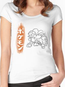 Entei Women's Fitted Scoop T-Shirt