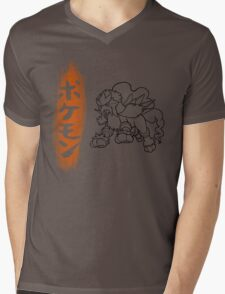 Entei Mens V-Neck T-Shirt