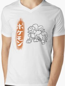 Entei Mens V-Neck T-Shirt