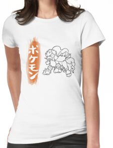 Entei Womens Fitted T-Shirt