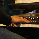Synthesizer Blue Balls Lucerne by Frederic Chastagnol