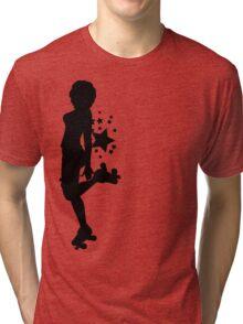Sass E. Silhouette Tri-blend T-Shirt