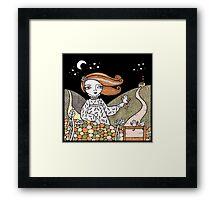 Sallys Songbirds Framed Print