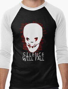 Silence Will Fall Men's Baseball ¾ T-Shirt