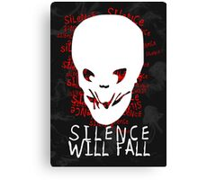 Silence Will Fall Canvas Print