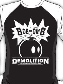 Bob-Omb Demolition White T-Shirt