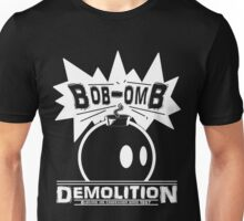 Bob-Omb Demolition White Unisex T-Shirt
