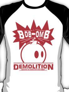 Bob-Omb Demolition red T-Shirt