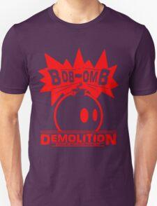 Bob-Omb Demolition red Unisex T-Shirt
