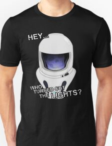 """""""Hey Who Turned Out The Lights"""" T-Shirt"""
