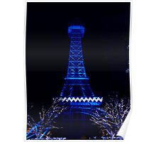 Blue Tower Poster