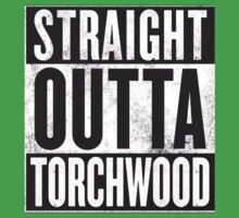 Straight Outta Torchwood Kids Tee