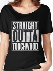Straight Outta Torchwood Women's Relaxed Fit T-Shirt
