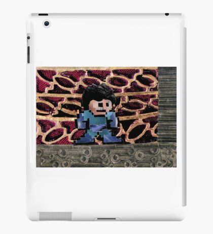 Mega Man vs Quickman iPad Case/Skin