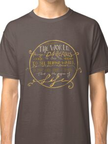 Walter Mitty Quote Graphic Classic T-Shirt
