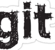 git. Sticker