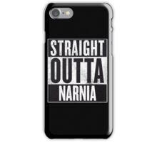 Straight Outta Narnia iPhone Case/Skin