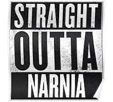 Straight Outta Narnia Poster