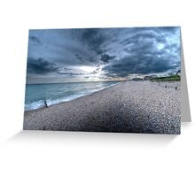 Bracklesham Bay Greeting Card