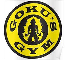 GOKU'S GYM Poster