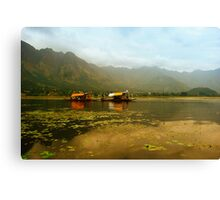 Dal Lake  Canvas Print