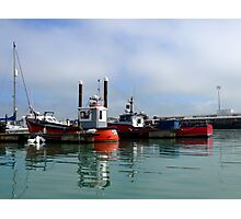 Harbour Mist Photographic Print